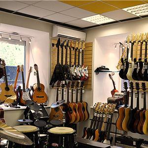 Музыкальные магазины Осинников
